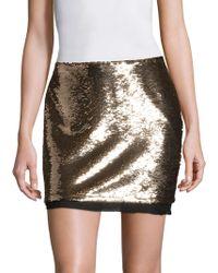 Rachel Zoe - Finn Sequin Skirt - Lyst
