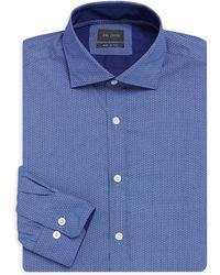 Pal Zileri - Contemporary-fit Micro Dot Dress Shirt - Lyst