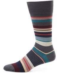 Paul Smith - Mixed Stripe Socks - Lyst