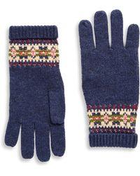 Ralph Lauren | Girl's Fair Isle Gloves | Lyst