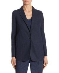 Akris - Button-front Cashmere Jacket - Lyst