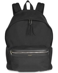 Saint Laurent - Patch Stream Backpack - Lyst