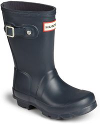 HUNTER - Kids Original Tall Rubber Rain Boots - Lyst