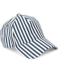 Rag & Bone - Marilyn Striped Baseball Cap - Lyst