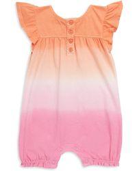 Splendid - Baby Girl's Dip-dye Romper - Lyst