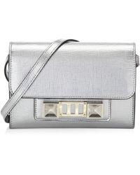 Proenza Schouler - Metallic New Linosa Leather Mini Bag - Lyst