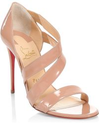 39937eb94e31 Christian Louboutin - World Copine 100 Patent Leather Court Shoes - Lyst