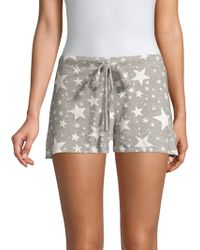 Saks Fifth Avenue - Hattie French Terry Boxers - Lyst