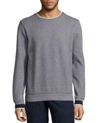 Lacoste   Semi-fancy Piqué Sweatshirt   Lyst
