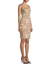 Black Halo - Vista Leopard Print Sheath Dress - Lyst