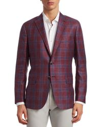 Saks Fifth Avenue - Collection Plaid Check Sportcoat - Lyst