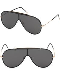 799898761597f Lyst - Tom Ford Cyrille Aviator Sunglasses in Black for Men