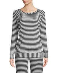 Saks Fifth Avenue - Hattie Striped Sweatshirt - Lyst