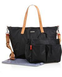 Storksak - Noa Coated Canvas Diaper Bag With Organizer - Lyst