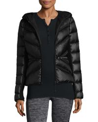 BLANC NOIR - Quilted Puffer Jacket - Lyst