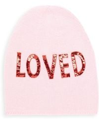 Gucci - Loved Sequin-embroidered Wool Hat - Lyst