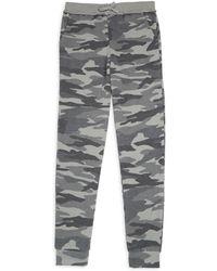 Splendid - Girl's Camo Print Sweatpants - Lyst