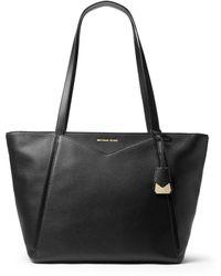 MICHAEL Michael Kors - Large Leather Tote Bag - Lyst