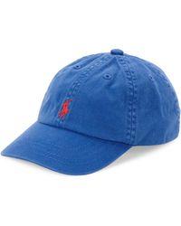 Ralph Lauren - Classic Baseball Cap - Lyst