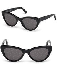 Balenciaga - Cat Eye Sunglasses - Lyst