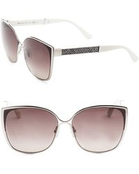 df0ac051af305 Jimmy Choo - Women s Maty 58mm Square Sunglasses - Black - Lyst
