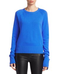 Helmut Lang - Slouch Sleeve Cashmere Sweater - Lyst