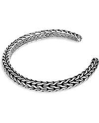 John Hardy | Classic Sterling Silver Cuff Bracelet | Lyst