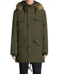 Rainforest - Selawik Fur-trim Parka - Lyst