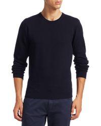 Giorgio Armani - Herringbone-knit Sweater - Lyst