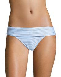 Heidi Klein - Foldover Bikini Bottom - Lyst