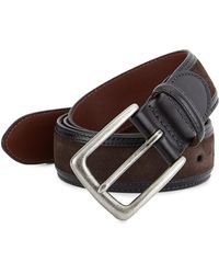 Saks Fifth Avenue - Collection Leather Edge Belt - Lyst