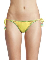 OndadeMar - String Bikini Bottom - Lyst