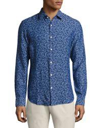 Bonobos - Daisy-print Premium Italian Cotton Shirt - Lyst