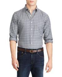 Polo Ralph Lauren - Plaid Casual Button-down Cotton Shirt - Lyst