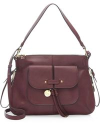See By Chloé - Olga Leather Hobo - Lyst