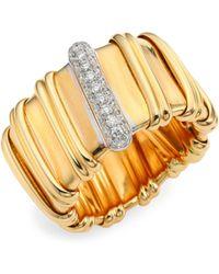 Roberto Coin - Nabucco Diamond & 18k Rose Gold Ring - Lyst