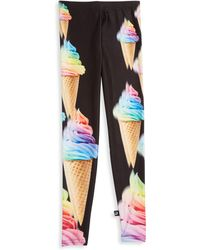Terez - Girl's Unicorn Ice Cream Printed Pants - Lyst