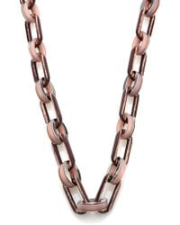 Lafayette 148 New York - Oval Link Chain Necklace - Lyst