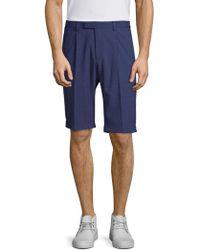 Strellson - Sorio Pinstripe Shorts - Lyst
