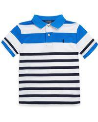 Ralph Lauren - Boy's Striped Polo - Lyst