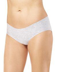 Commando - Heathered Bikini Bottom - Lyst
