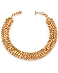 House of Lavande - Batari Triple-chain Collar Necklace - Lyst