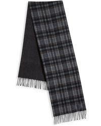 Saks Fifth Avenue | Johnstons Of Elgin Plaid Merino Wool & Cashmere Scarf | Lyst