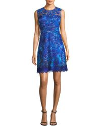 Elie Tahari - Anabelle Lace Dress - Lyst