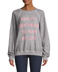 Wildfox - Reality Sommers Sweatshirt - Lyst