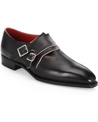 Corthay - Arca Double Monk Strap Shoes - Lyst