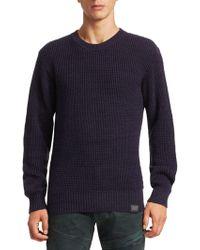 G-Star RAW - Jayvi Knit Sweater - Lyst