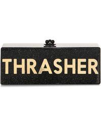 Edie Parker | Flavia Thrasher Box Clutch | Lyst