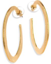 Stephanie Kantis - Organic Hoop Earrings/2.5 - Lyst