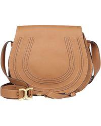 Chloé - Marcie Medium Leather Saddle Bag - Lyst